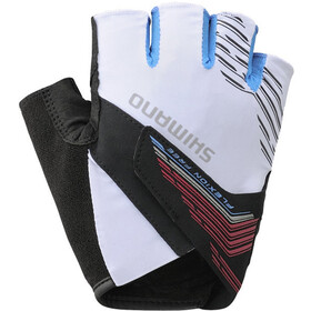 Shimano Advanced Short Gloves Men white